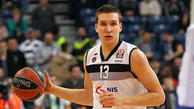 Bogdan Bogdanovic KK Partizan Suns 2014 NBA Draft