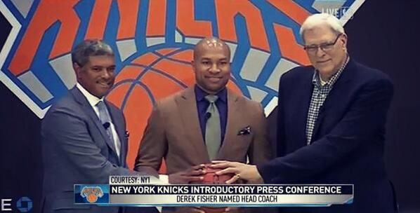 Derek Fisher Knicks June 2014