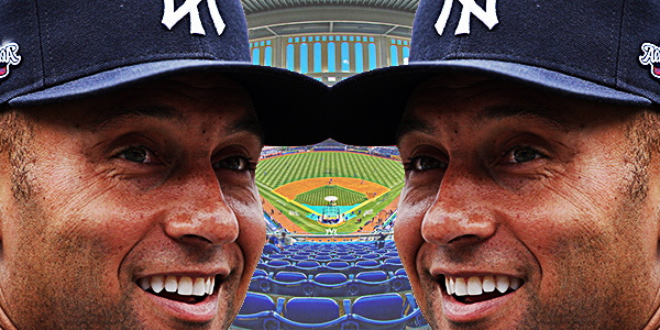 Derek Jeter seeing doubles double