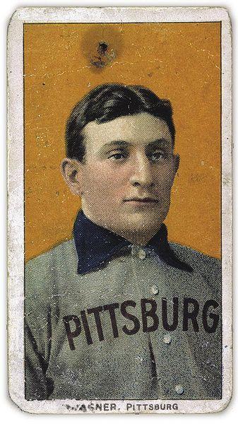 Honus Wagner 1909 Topps Card