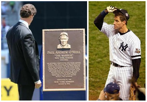 Paul O'Neill honored with plaque