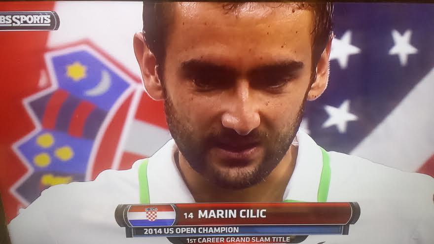 Marin Cilic Wins First Grand Slam US Open 2