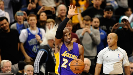 Kobe passes MJ All Time points T Wolves 20141213