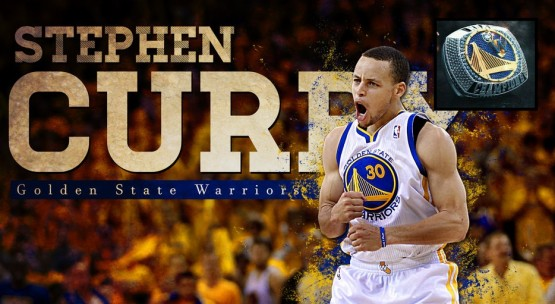 Stephen Curry Warriors chip ring pic