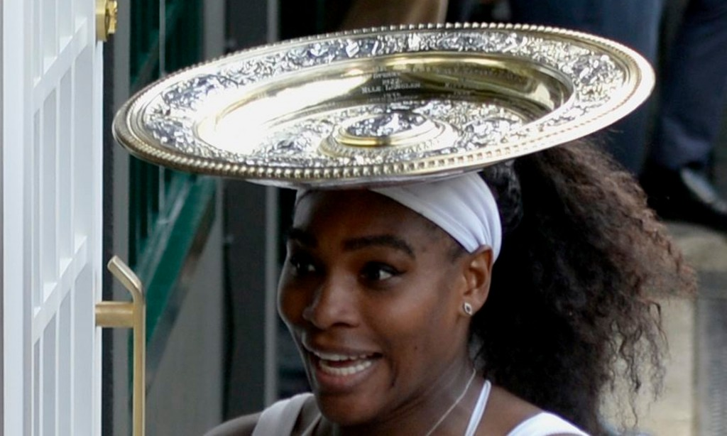 Serena Williams wins Wimbledon dish pic 7 11 15