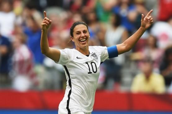 U.S. Women win World Cup 2015 Carli Lloyd July 5 2015