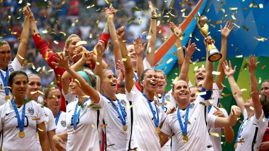 U.S. Women win World Cup 2015 July 5 2015