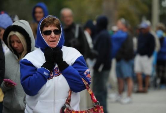 Cold Mets fan