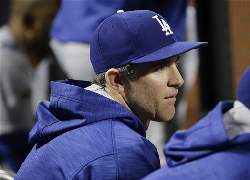 chase utley ninth inning bench photo dodgers mets NLDS game 3 10 12 15