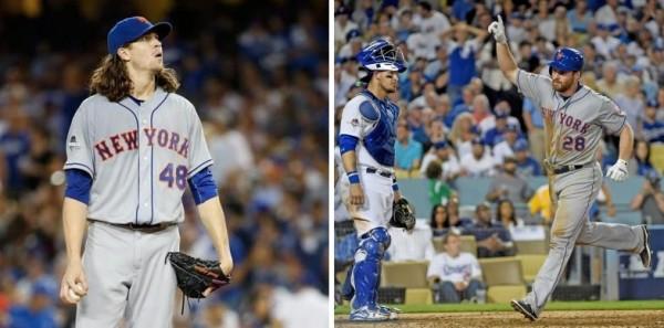 deGrom Daniel Murphy Mets Dodgers NLDS game 5 101515
