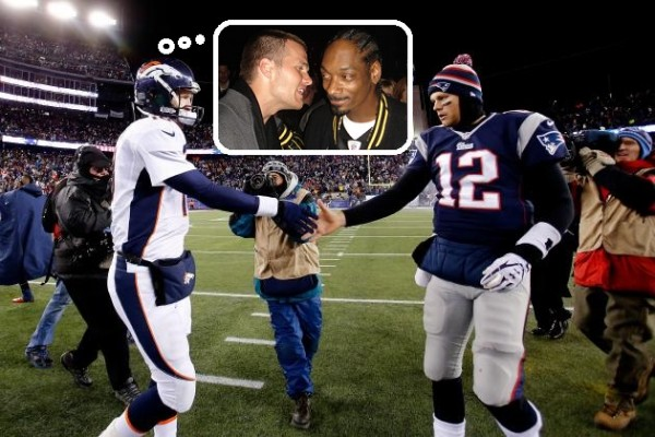 Manning vs Brady championship game 2016 brady snoop