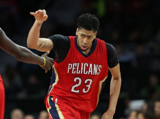 Anthony Davis 59 points 2 21 16